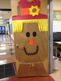 Bulletin Boards, Classroom Doors and Part 3 | Fall door ...