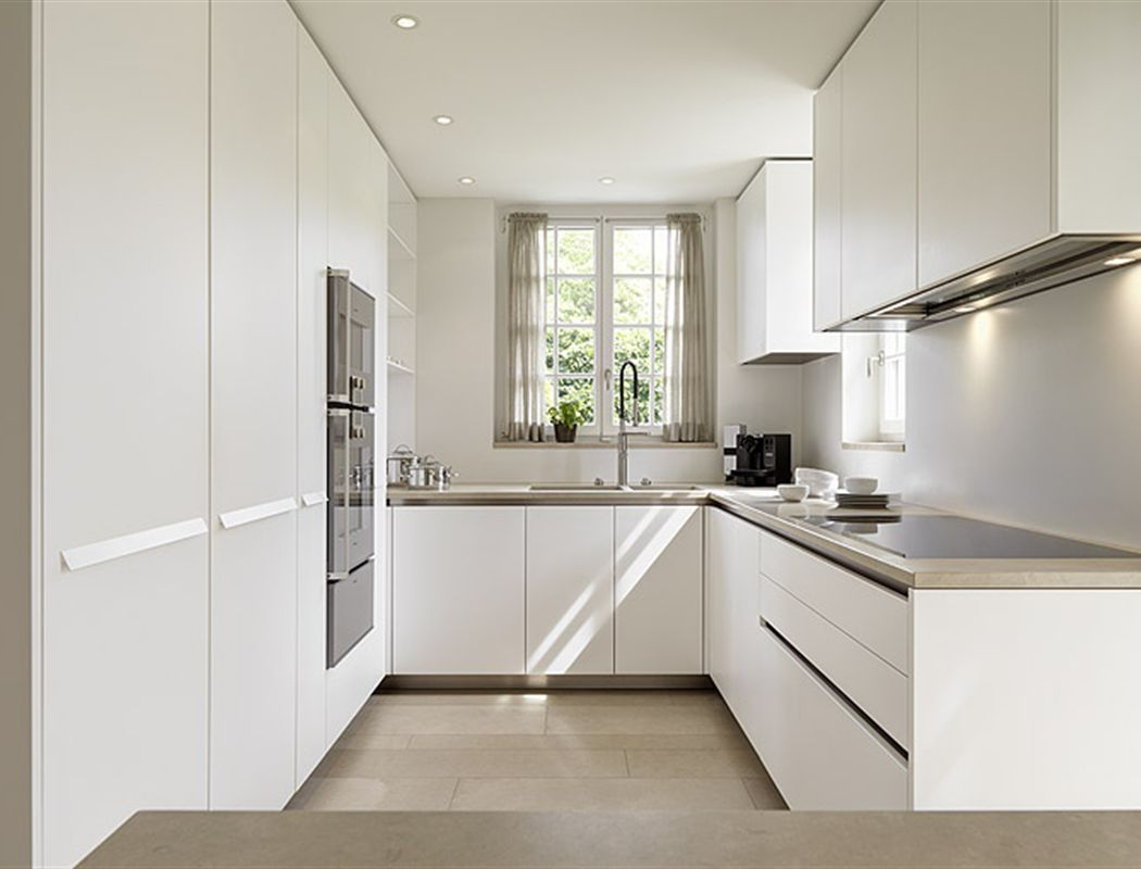 Modern Kitchen Design U Shape Modern Quotu Quot Shaped Kitchen But White Would Be Too Stark In