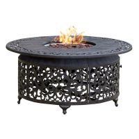 Shop Paramount FP-251 Round Outdoor Propane Fire Pit Table ...