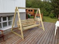 DIY Porch Swing Frame Plans | sue's house | Pinterest ...