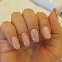 Natural oval nails | Acrylic nail ideas | Pinterest | Oval ...