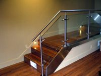 glass balusters for railings | Custom Fabricated Stainless ...