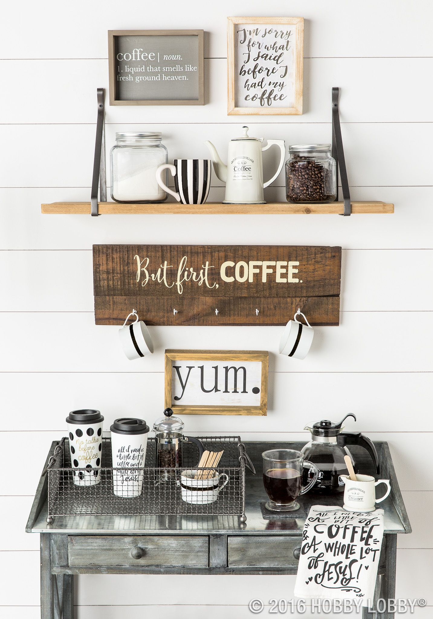 Farmhouse Coffee Shop Farmhouse Coffee Bar Home Decor Pinterest Coffee And Bar Women