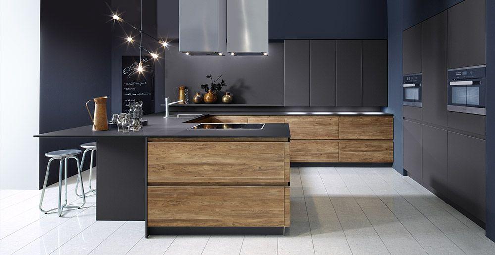 Schröder Küchen Küche ohne Griffe Sherwood H GLV engadina - moderne schroder kuchen