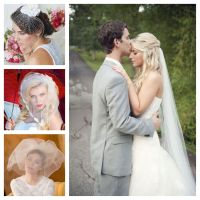 No Veil Wedding Hairstyles | Fade Haircut