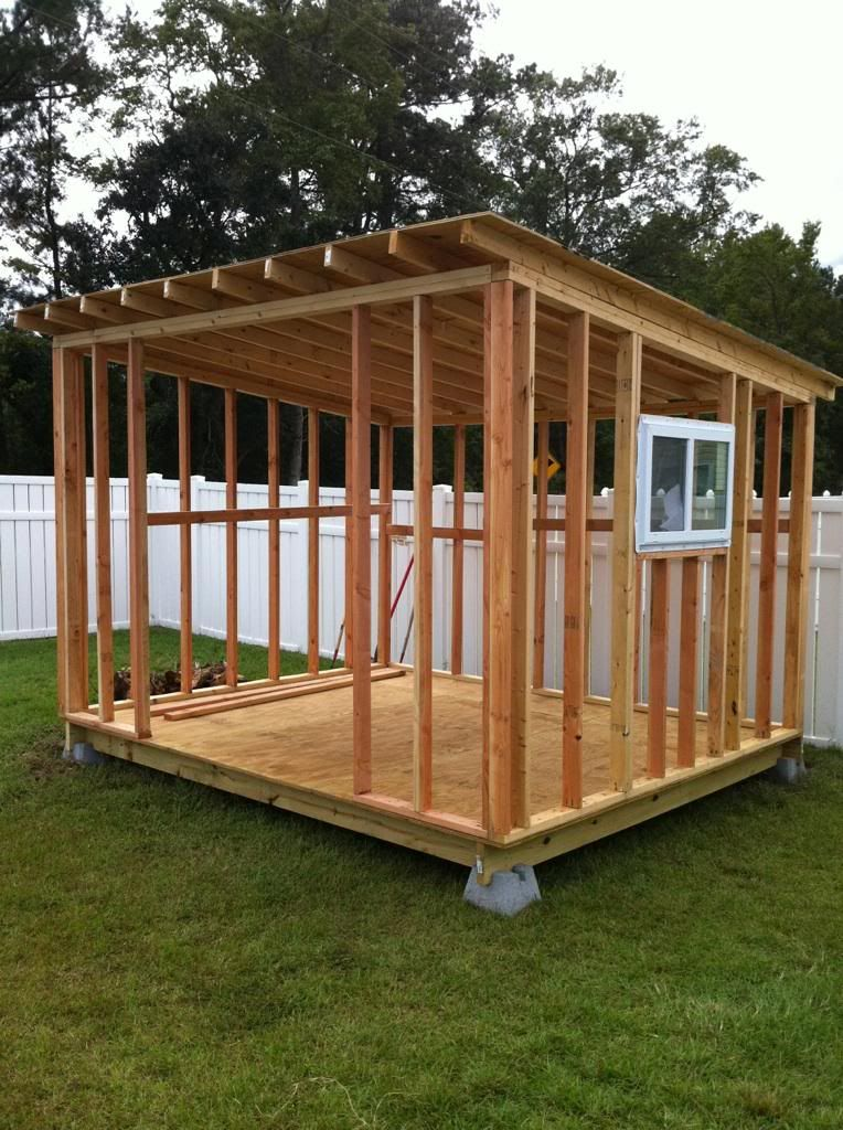 How to build a storage shed, For more free shed plans here is a - garden shed design