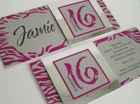 Sweet 16 Invitation www.cameleon-design.ca | Cameleon ...