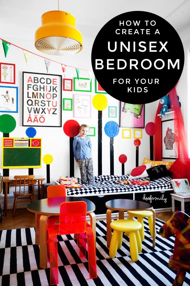 How to Create a Unisex Bedroom for Your Kids Kid, In love and - unisex bedroom ideas