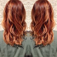 Medium copper blonde hair. | Hair by Madison ...