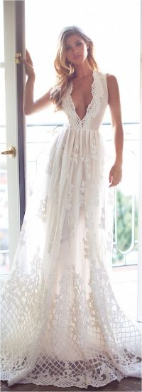 85 Comfortable Beach Wedding Dresses Inspiration 2017 ...
