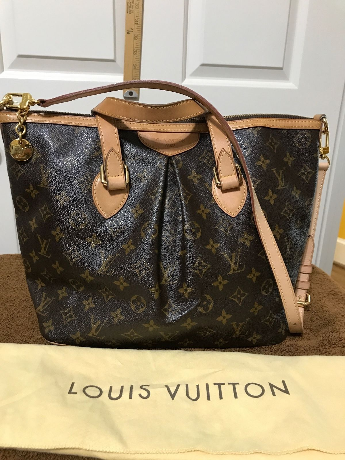Louis Vuitton Tivoli Vs Palermo Louis Vuitton Palermo Brown Monogram Handbag 575 Louis