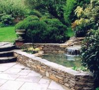 Landscaping And Outdoor Building , Raised Ponds : Stone ...