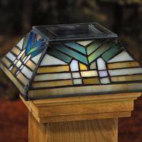 solar post cap - Google Search | solar post cap lights ...