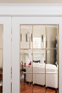 Distinctive Interiors - Beveled Glass French door with ...