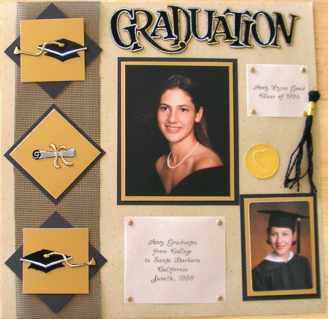 Graduation scrapbook com