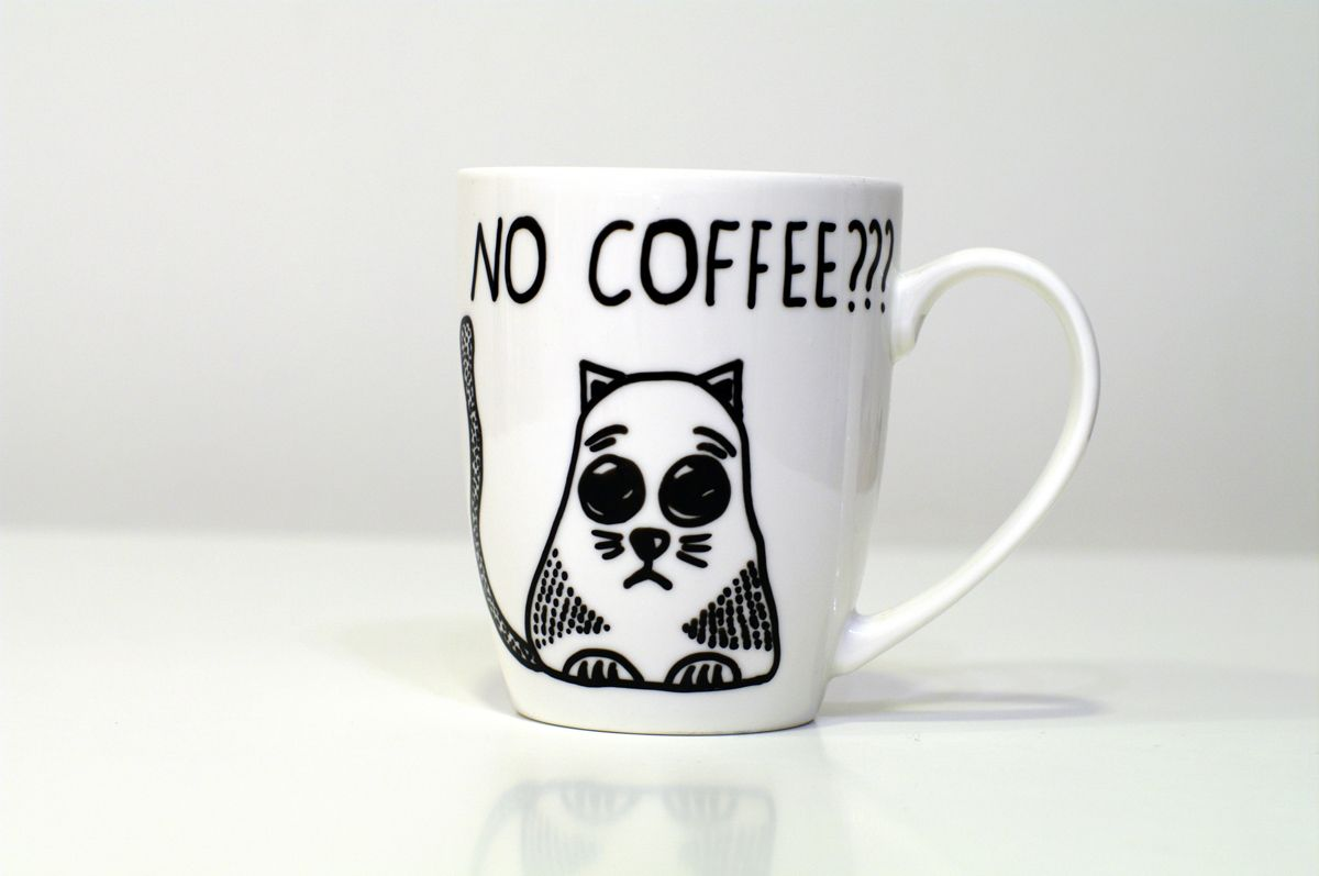 Fullsize Of Large White Coffee Mug