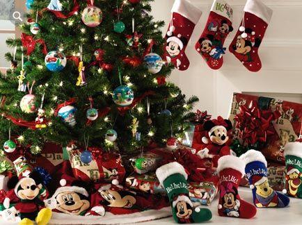 Disney Christmas Tree Disney Christmas Pinterest Disney - disney christmas decorations