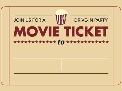 train ticket template free download - Google Search Free - movie theater ticket template