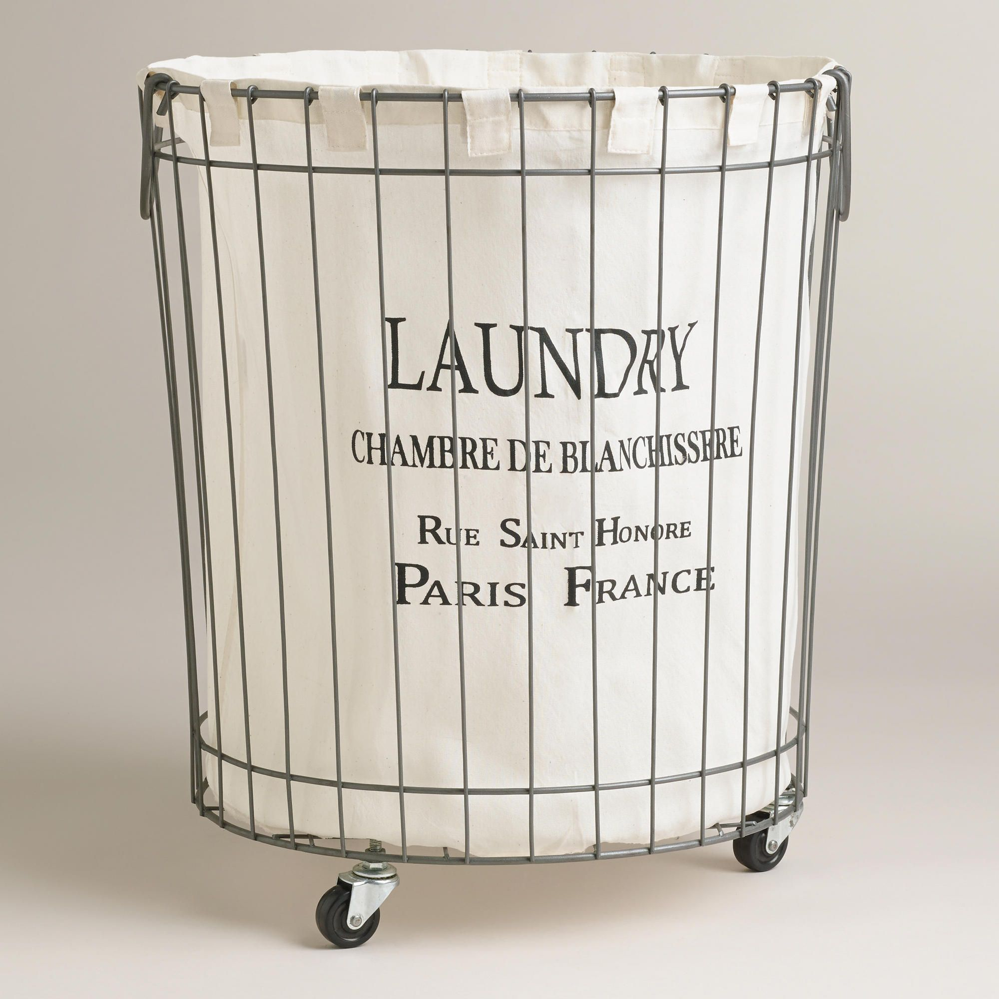 Designer Laundry Hamper Love This Need For New House Claudette Wire Hamper