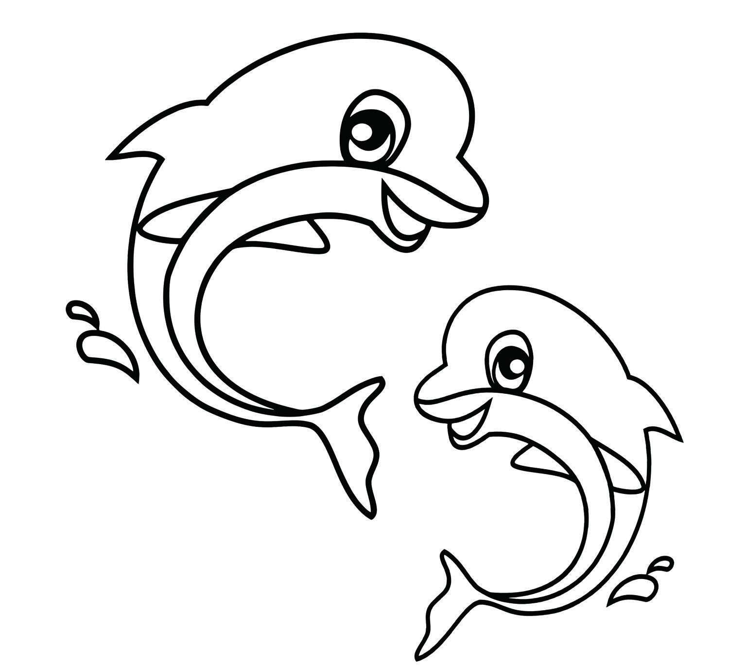 Coloring pages animals sea animal coloring pages free printable kids ocean animals coloring