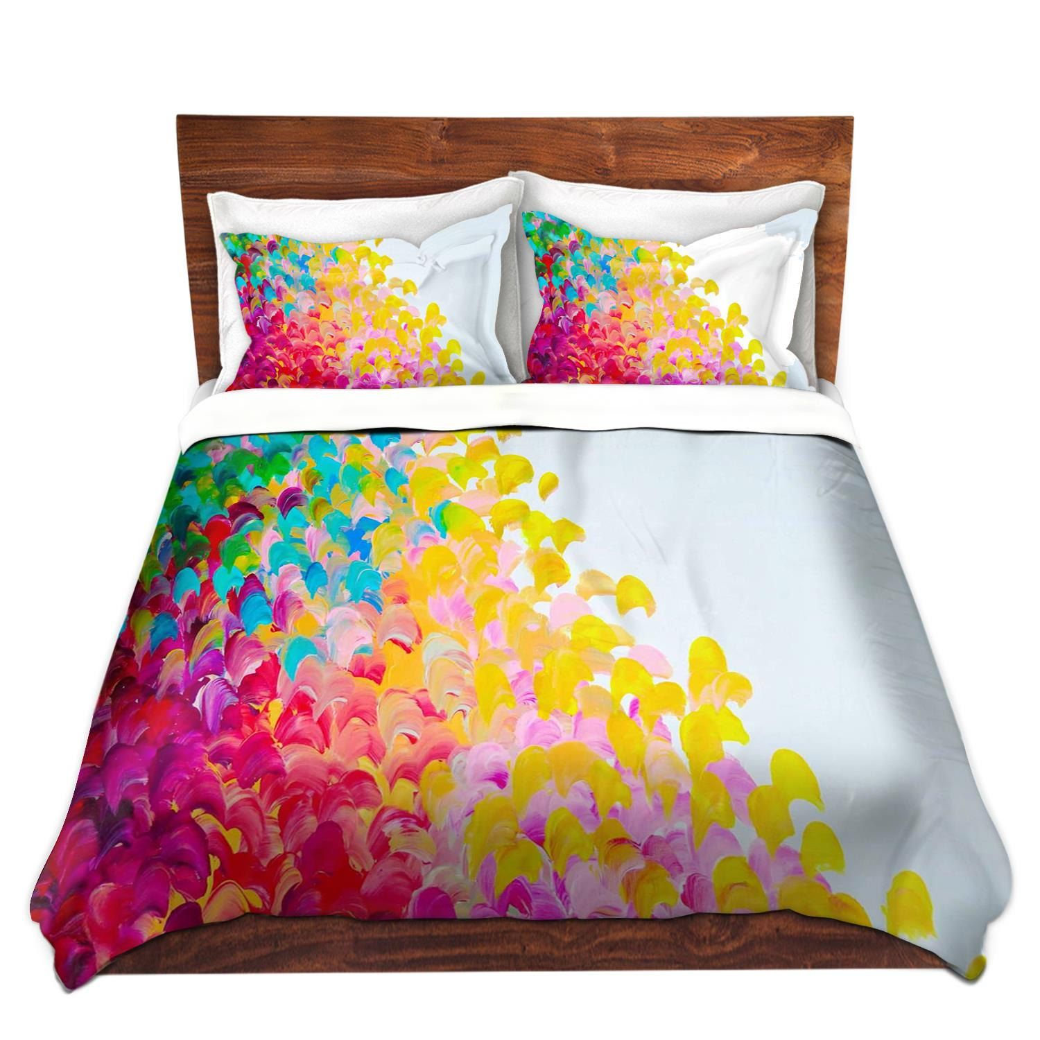 Cheap Doona Covers Rainbow Fine Art Rainbow Duvet Covers King Queen Twin
