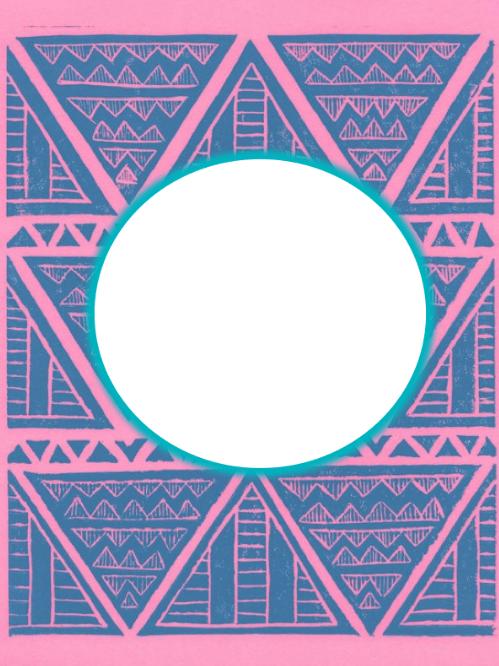 monogrammed binder cover