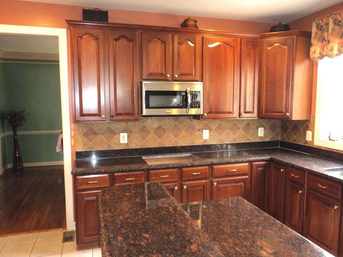 kitchen granite countertop Black Granite