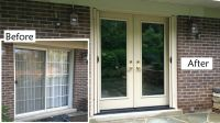 Replace sliding glass patio door with ProVia Heritage ...