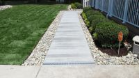 gravel patio drainage | Virginia Beach French Drain ...