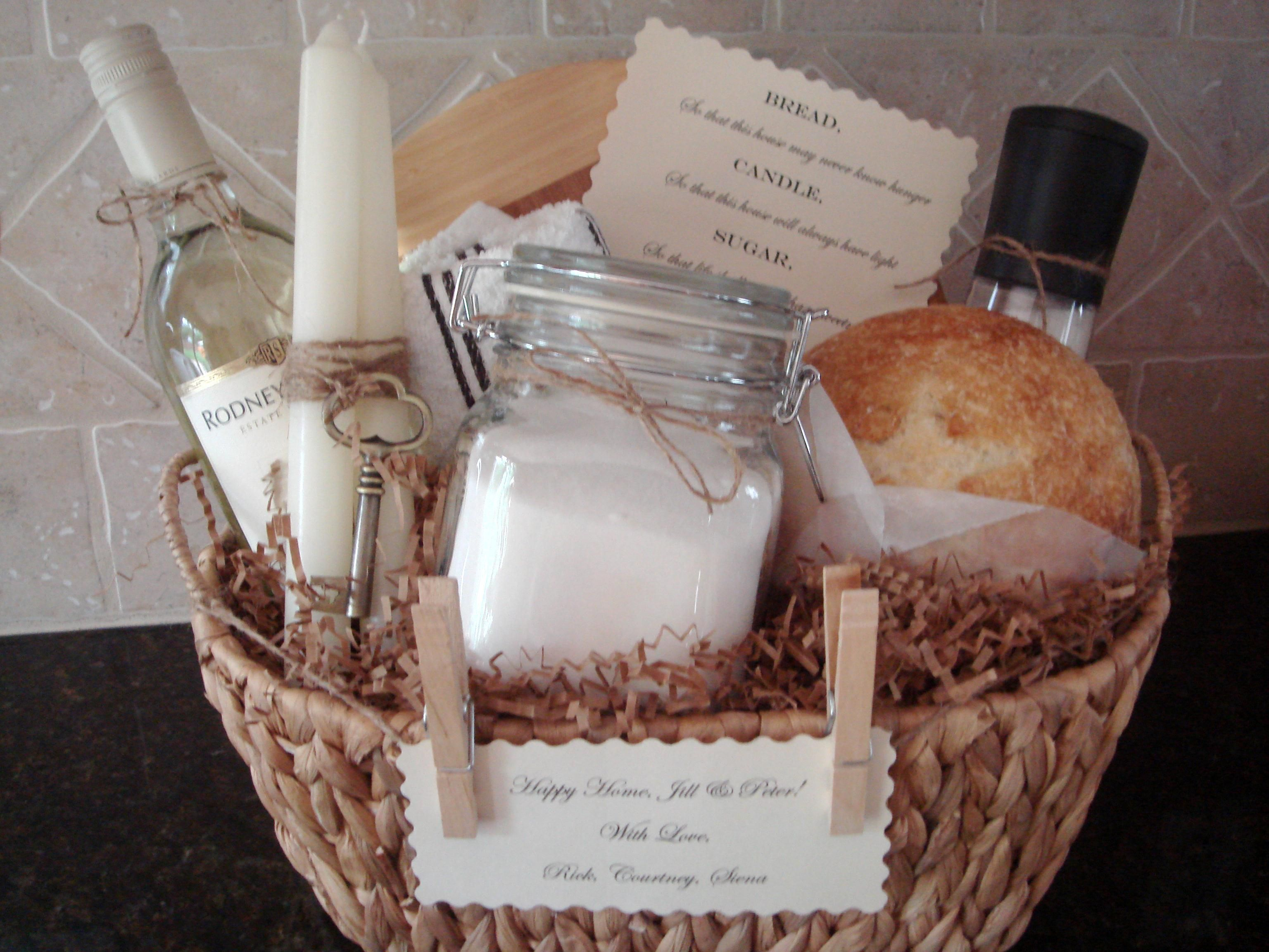 Traditional Gifts For New Homeowners Traditional House Warming Gift Basket By House Of Hubbard
