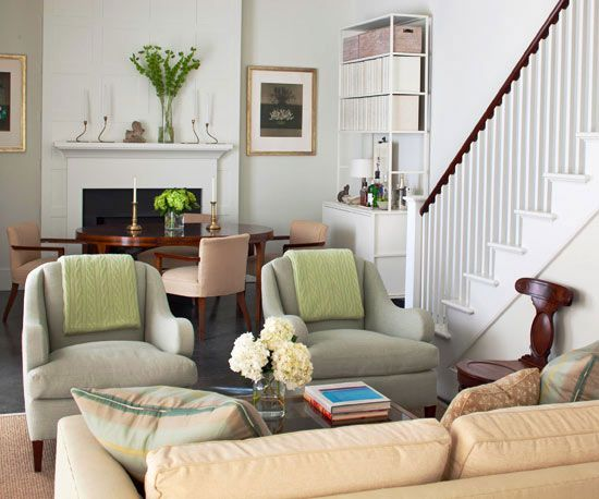 Living Room Furniture Arrangement Ideas Conversation area - small living room chairs