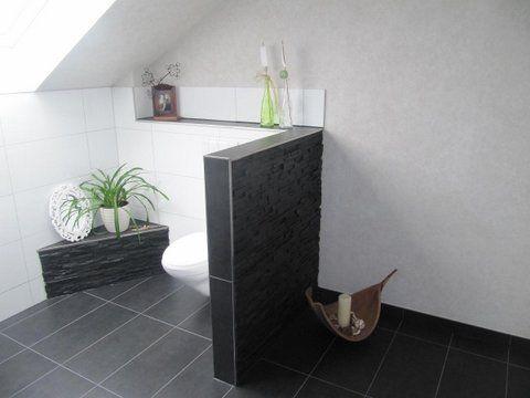 Heinrich Wohnraumveredelung » Bad In Schwarz Weiß Mit Ebenerdiger   Badezimmer  Schwarz Weis