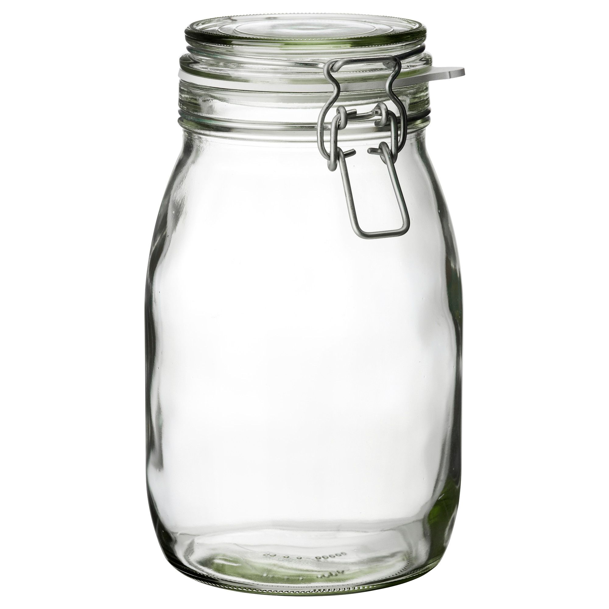 Lid And Jar Korken Jar With Lid Clear Glass Kitchens Pantry And