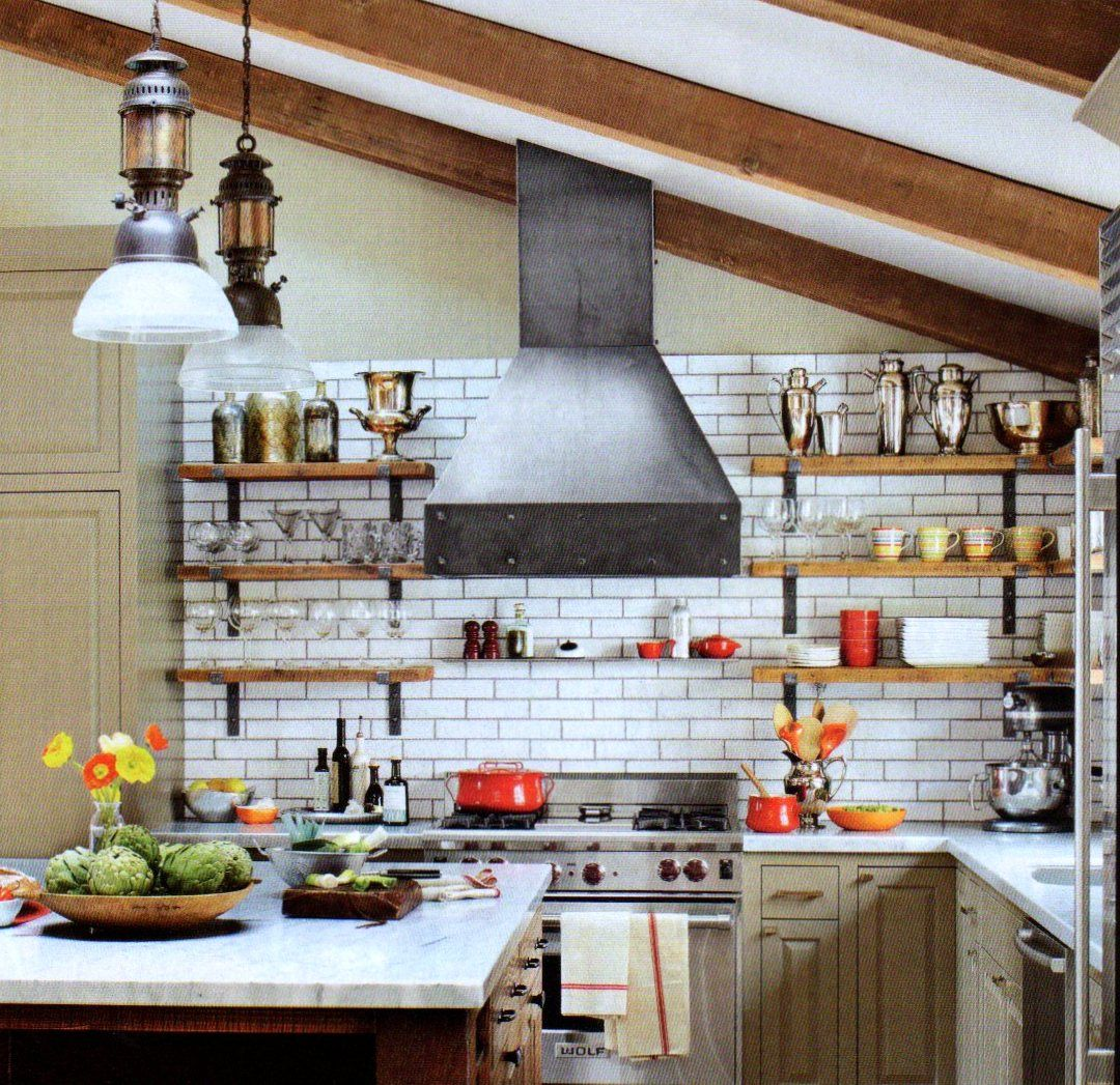 Kitchen Shelves Decorating Connie Mccreight Interior Design Dan Doyle 39s Industrial