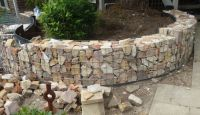 Gabion Retaining Wall Design. Interesting Gabion Basket ...