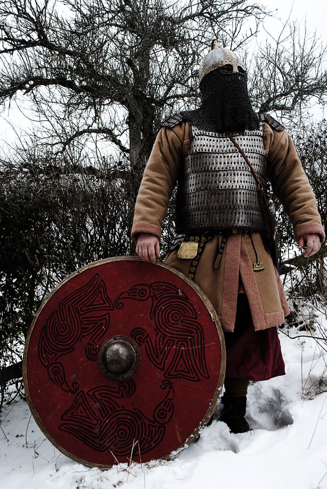 Wikinger Larp Viking Handcraft Alternative Zum Gambeson Der