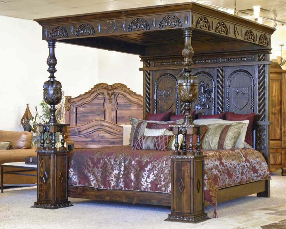 Great kings bed castle oliver 17th cen ireland cbsj315a but would want in a gothic furniturebedroom