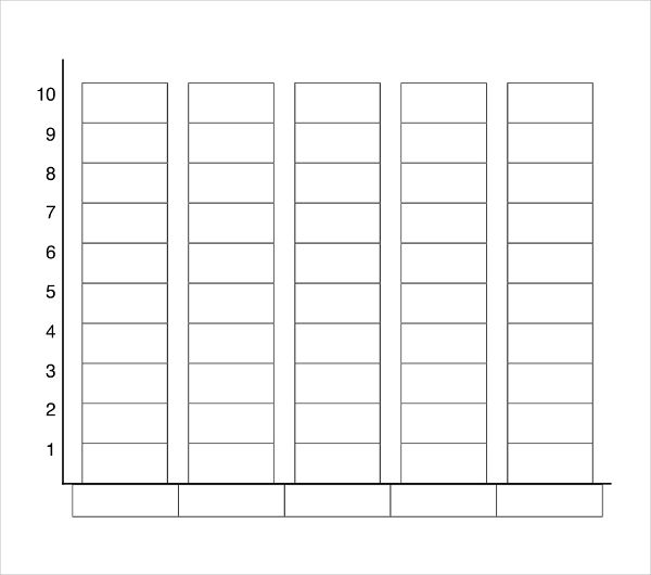 Graphing Template Blank Chart Graph Blank Bar Graph Template 2nd - blank bar graph printable