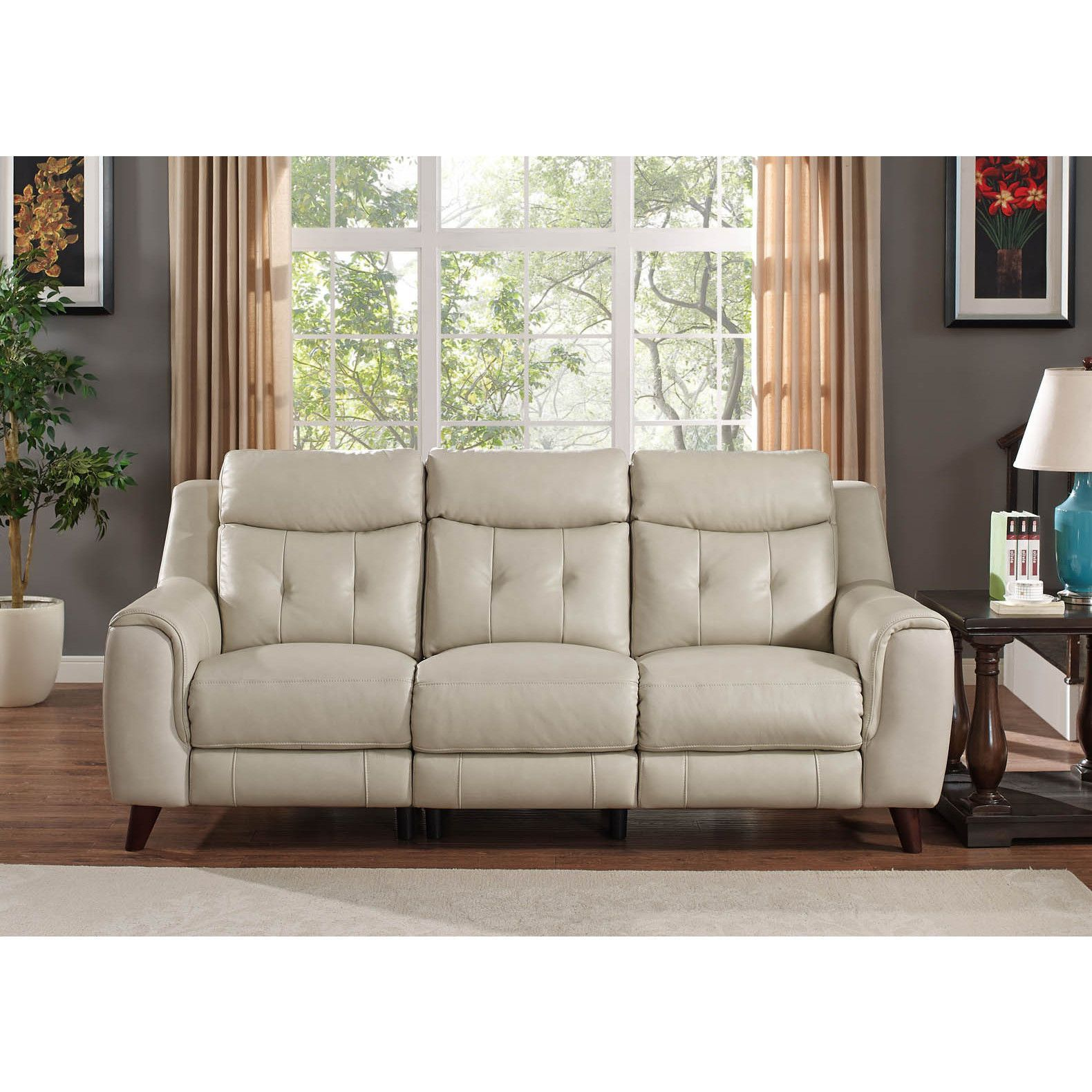 Stressless Cream Sofa Cream Leather Recliner Sofa Stressless Buckingham 3 Seat