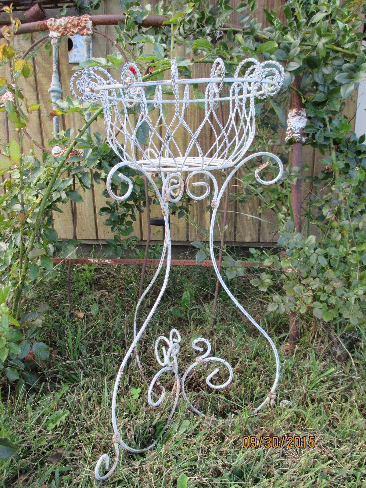 Plant Stands On Wheels Details About Vintage 3 Wheel Trike Metal Iron Rustic