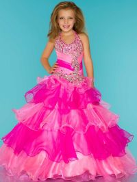 little girls pageant dresses
