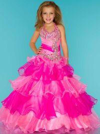 little girls pageant dresses | Sugar 81807S Little Girl's ...