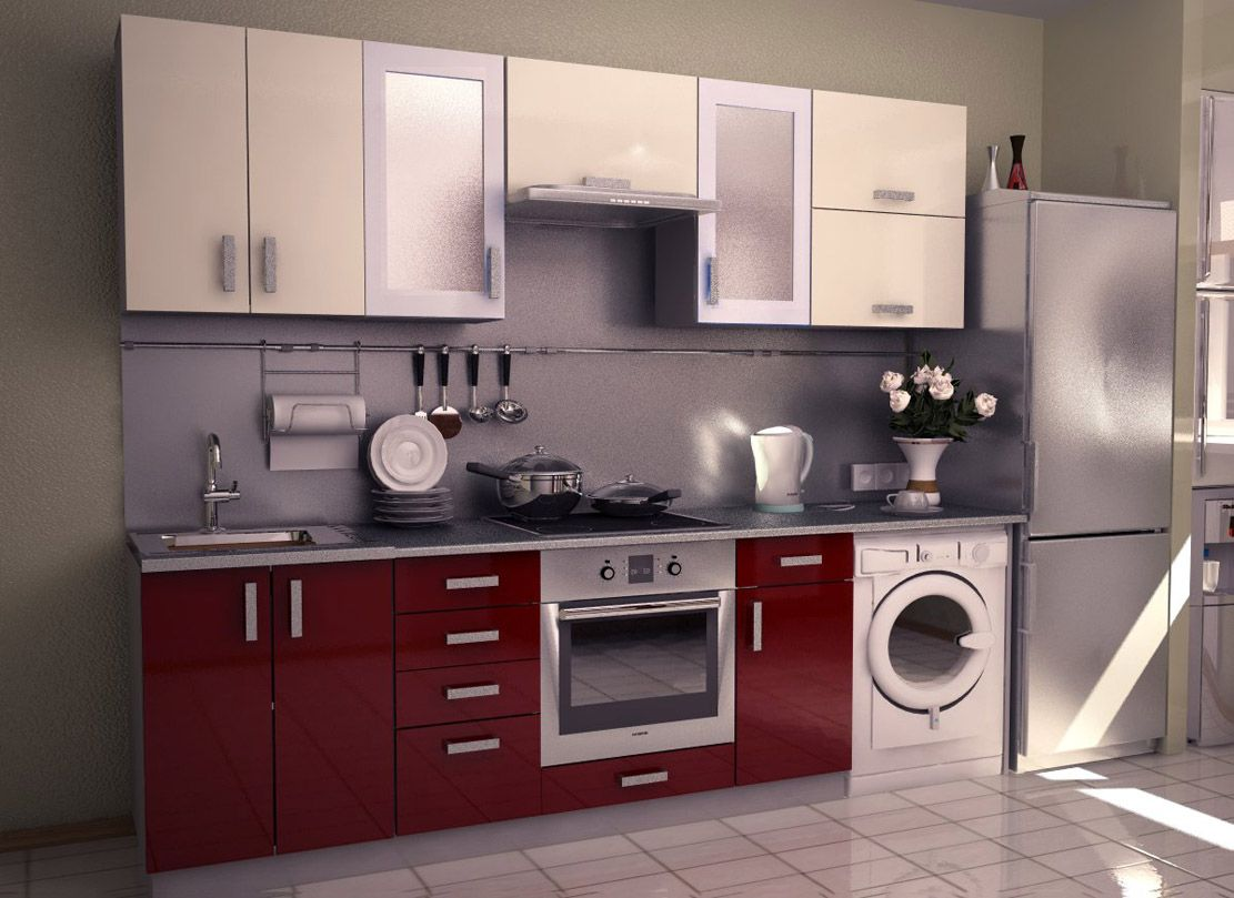 Kitchen Design Along One Wall Aamoda Kitchen Single Wall Modular Kitchen Concept And