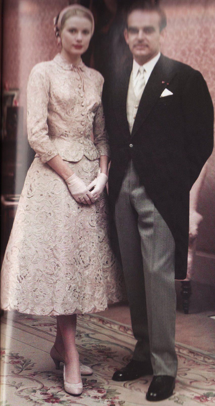 civil wedding ceremony dresses Grace Kelly s Civil Wedding dress