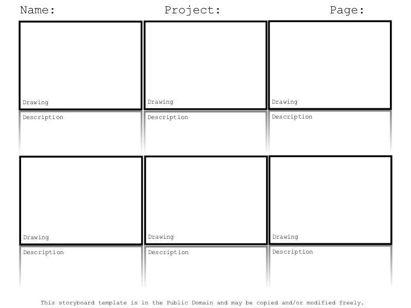 Doing a digital storytelling lesson? Hereu0027s a free storyboard - digital storyboard templates