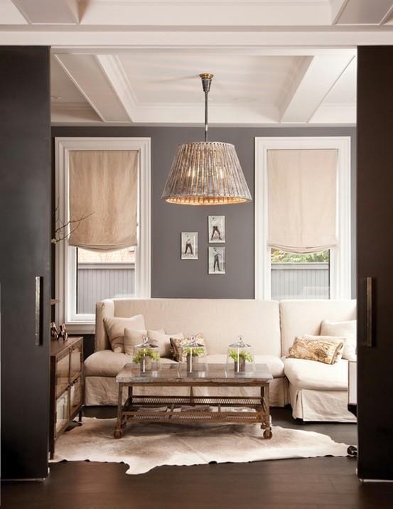4 Living Room Window Treatment Ideas Beige sofa, Living room - beige couch living room