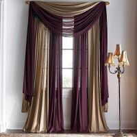 Multiple Window Scarves | curtains &cloth | Pinterest ...