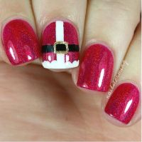 30 Totally Cute Christmas Designs For Short Nails | Short ...