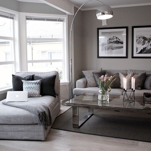 Grey in Home Decor Passing Trend or Here to Stay? Modern living - grey and beige living room