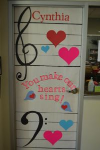 Teacher Appreciation: Door decorations | Craft Ideas ...
